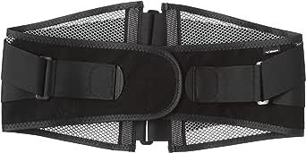 [ミズノ] 腰部骨盤ベルト ワイドタイプ 薄型メッシュ 通気性 幅広 安定 固定力 介護 運転 男女兼用 C3JKB502