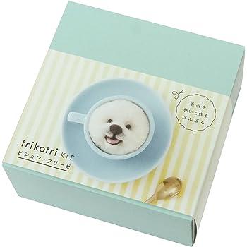 DARUMA 手芸キット trikotri kit 犬ぽんぽん ビション・フリーゼ 01-148B