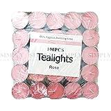Scented Tea Light Bulk Tealight Candles 4 Hour Hours Burn Scent - 100pcs