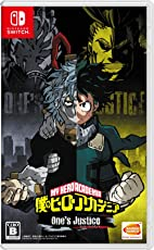 僕のヒーローアカデミア One's Justice - Switch (【早期購入特典】「爆豪勝己のコスチュームアナザーカラーを含むカスタマイズパック」が先行入手できる特典コード&【予約特典】「僕のヒーローアカデミア 激突!ヒーローズバトル PLUS ULTRA!!!」で使用することができる限定プロモーションカード2枚 同梱)