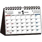 2021年 シンプル卓上カレンダー A5ヨコ【T11】 ([カレンダー])