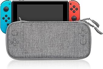KetenTech Nintendo switch ケース 超薄 軽量 スリムハードポーチ キャリングケース 保護カバー 防水 耐衝撃 全面保護 旅行用収納バッグ