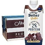 ベターシェイク プロテインミルクシェイク【これ1本でプロテインが29g】(チョコレート)330ml x 12本(ケース販売)ミルクプロテイン Better Shake Protein Milk Shake ( Milk Protein )