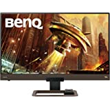 BenQ EX2780Q Gaming Monitor 144Hz 1440p 27 Inch IPS 1ms | HDRi, 95% DCI-P3 | 2.1 Channel Speaker & 5 Watt Subwoofer Metallic
