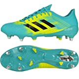 adidas Malice Control (sg) Rugby Shoes, Blue (Hiraqu/Cblack/Shoyel Hiraqu/Cblack/Shoyel)