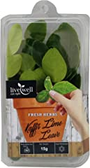 Live Well Kaffir Lime Leaf, 15 g