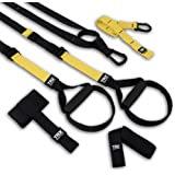 TRX PRO3 Suspension Trainer System Design & Durability| Includes Three Anchor Solutions, 8 Video Workouts & 8-Week Workout Pr
