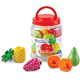 Learning Resources Snap-n-Learn Fruit Shapers, Fine Motor Toy for Toddlers, Ages 2+, multi