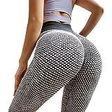 Volecat TIK Tok Butt Lifting Leggings, TikTok Yoga Pants Butt Lift Tights Leggings for Women Women's High Waist Yoga Pants Tu