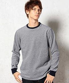 Stripe Crewneck Shirt 3212-499-1417: Navy