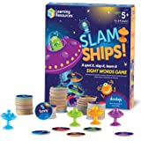 Learning Resources LER8596 Slam Ships Sight Words Game, Homeschool, Visual, Tactile and Auditory Learning, Ages 5+
