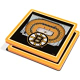 YouTheFan NHL 3D Team StadiumView 4x4 Coasters - Set of 2