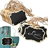 Chalkboard Tags Hanging Wooden Mini Chalkboard Signs Wooden Chalkboard Tags, Hanging Chalkboard Labels, Ideal Price Tags, Mes