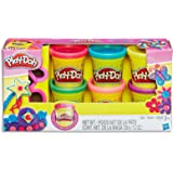 Play-Doh - Sparkle Compound Variety Pack - inc Cutters & 6 Tubs of Dough - Creative Kids Toys - Ages 3+