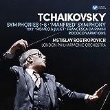 Mstislav Rostropovich - Tchaikovsky Symphonies 1-6, Manfred Symphony, Overtures, Rococo variations