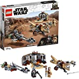 LEGO Star Wars: The Mandalorian Trouble on Tatooine 75299 Awesome Toy Building Kit for Kids Featuring The Child, New 2021 (27