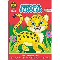 School Zone - Preschool Scholar Workbook - 64 Pages, Ages 3…