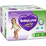 BabyLove Cosifit Nappies, Size 6 (15-25kg), 60 Nappies (4x 15 pack)