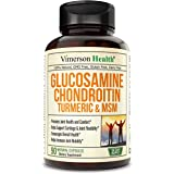 Glucosamine with Chondroitin Turmeric MSM Boswellia. Supports Occasional Joint Pain Relief. Helps Inflammatory Response, Anti