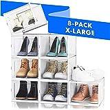 NEATLY Shoe Organizer Shoe Storage - Stylish Shoe Box, Shoe Organizer For Closet, Shoe Shelf, Sneaker Closet Organizers & Sto