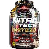 Protein Powder | MuscleTech Nitro-Tech Whey Gold | Whey Protein Powder | Whey Protein Isolate + Peptides | Protein Powder for