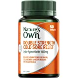 Nature's Own Double Strength Cold Sore Relief - Relieves Symptoms and Helps Reduce Occurrence of Facial Cold Sores, 50 Tablet