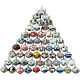 (Lot of 20 Pieces) - Assorted Multicolor Ceramic Drawers Knobs Door Cupboard Pulls Indian Mix Knobs