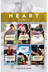 Heart Box Set Jan 2021/The Marine Makes Amends/The Marriage Moment/The Child Who Changed Them/Snowbound with the Sheriff/Montana Wedding/The S (The Camdens of Montana) Kindle Edition