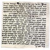 Kosher 7cm Mezuzah Scroll 2.8 Inch klaf Mezuza Parchment