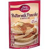 Betty Crocker Bisquick Baking Mix, Complete Pancake Mix, Buttermilk, 6.75 Oz Pouch (Pack of 9)