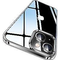 CASEKOO iPhone13 用 ケース クリア 耐衝撃 感 米軍MIL規格 耐久 SGS認証 カバー ストラップホ…