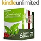 Gardening for Beginners 6 in 1 Box Set : Gardening, Hydroponics, Dry Your Herbs And Create Your Own Herbal Remedies, DIY Pick