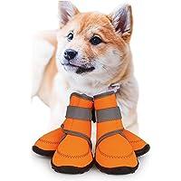 犬 靴 【ドッグトレーニングアドバイザー監修】〔防水! 脱げにくい 犬の靴 〕 犬靴 犬用靴 犬用 ドッグブーツ 犬のく…