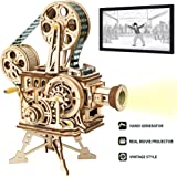 ROBOTIME 3D Wooden Puzzle Mechanical Model Kits for Adults DIY Construction Kit Vitascope