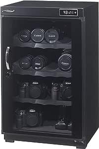 防湿庫 『40~100ℓサイズ』容量100L 日本製・7年長期保証付・経産省 電気安全法試験 合格済み AD-100(ベーシック)シリーズ一眼レフ8~10台収納 AMAZONポイント付き