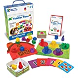 Learning Resources LER3483 All Ready for Toddler Time Readiness Kit,Multi-color