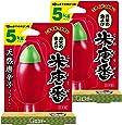 【まとめ買い】 米唐番 米びつ用防虫剤 5kgタイプ (日本製) 25g×2個
