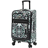 """Steve Madden Tribal Luggage Carry On 21"""" Expandable Suitcase With Spinner Wheels (21in, Tribal)"""