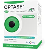 Optase Tea Tree Oil Eye Lid Wipes - Eyelid Cleansing Wipes for Daily Use - Premium Eye Cleanser for Dry Eye Relief - Preserva