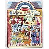 Melissa & Doug 9429 Pet Shop Puffy Sticker Set with 115 Reusable Stickers