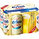 Orion Premium Draft Beer Can, 350ml (Pack of 6)