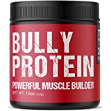 Bully Muscle Builder   Dog Protein Powder   Weight Gainer for Your Bully, Pitbull, Frenchies, or More   283g 60 Servings 30 D