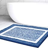Color&Geometry Bathroom Rug Mat, Ultra Soft and Water Absorbent Bath Rug, Bath Carpet, Machine Wash/Dry, for Tub, Shower, and