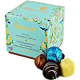Holdsworth Chocolates Truly Scrumptious Classic Assortment Cube - A Collection of Handmade Truffles and Chocolates - 100g