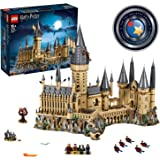 LEGO Harry Potter Hogwarts Castle 71043 Castle Model Building Kit with Harry Potter Figures Gryffindor, Hufflepuff, and More