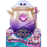 Magic Mixies - Magical Misting Cauldron with Interactive 20cm Pink Plush Toy