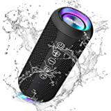 Ortizan Portable Bluetooth Speaker, IPX7 Waterproof Wireless Speaker with 24W Loud Stereo Sound, Outdoor Sport Speakers with