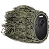 Ghillie Skin Compatible with Arlo Ultra/Ultra 2 & Arlo Pro 3/Pro 4 - Conceal and Protect Your Arlo Camera (1 Pack) (NOT Compa