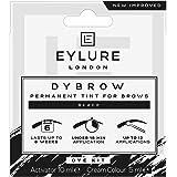 Eylure dybrow dye kit, permanent brow tint, black