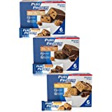 Pure Protein Bars, High Protein, Nutritious Snacks to Support Energy, Low Sugar, Gluten Free, Guilt Free Variety Pack, 1.76 o